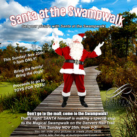 Santa at the Swampwalk Toys for Tots Fundraiser 2012